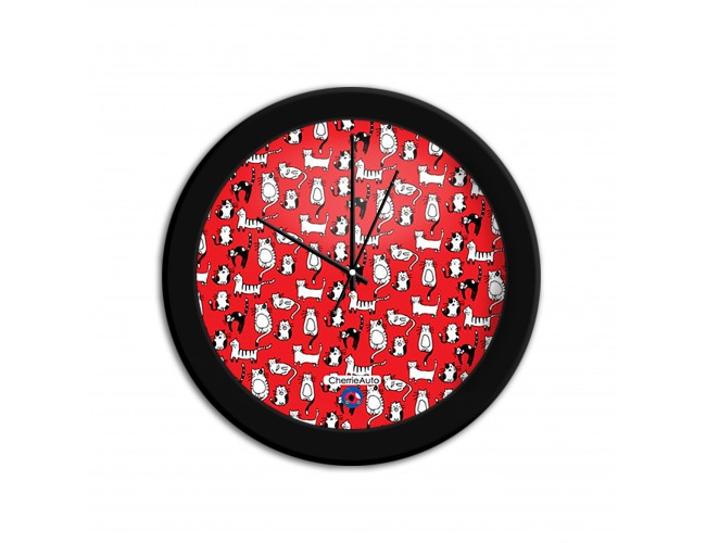 Kitty Gang Wall Clocks
