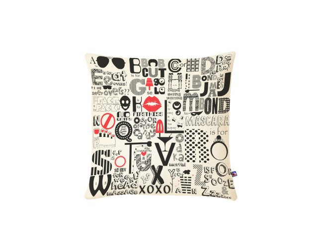 A-Z of Friendship Cushion