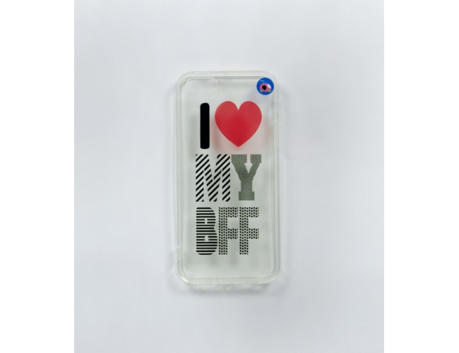I Love My BFF  Iphone 5 Phone Case