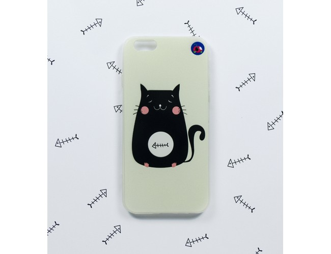 Kitty Fish Iphone 6 Phone Case