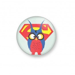 SUPER OWL - Badge