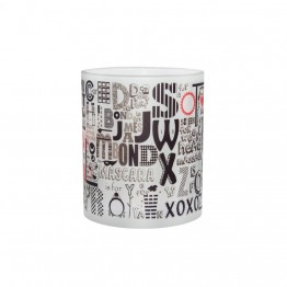 A - Z of friendship mug
