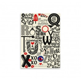 A-Z of Friendship notepad