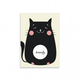 Kitty Fish  notepad